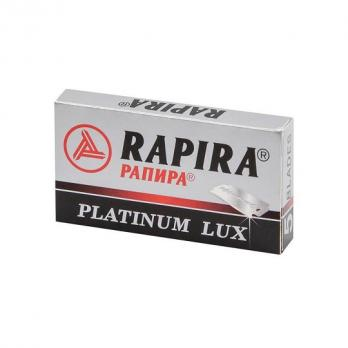 Rapira Platinum Lux Сменные лезвия для бритья 5шт в упаковке